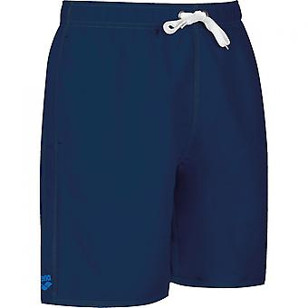 arena of fundamentals of sides vent Boxer shorts men's swimwear blue 43628-78