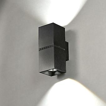 Milan Aluminum Led Double apply 2x10W (Home , Lighting , Wall sconces)