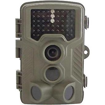 Wildlife camera Berger & Schröter FullHD 12 MPix Black LEDs Brown