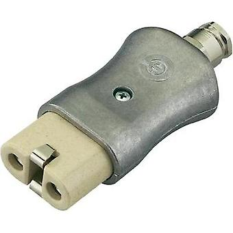 Hot wire connector ATT.LOV.SERIES_POWERCONNECTORS 344 Socket, straight Total number of pins: 2 + PE 16 A Aluminium Kal