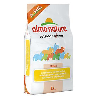 Almo Nature Holistic Cat Kitten Chicken & Rice 12kg
