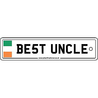 Ireland - Best Uncle License Plate Car Air Freshener
