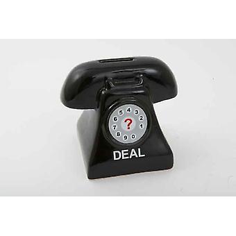 Retro-Dial Telefon Form Spardose Sparbüchse
