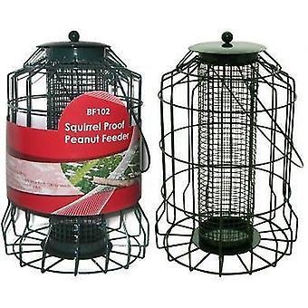 Bird Peanut Feeder Squirrel Proof Wild Bird Care Feed Garden Hanging