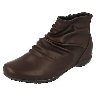 Damer ned til jorden Casual ankel støvler F50675