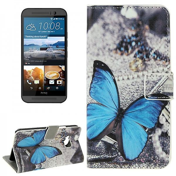 Cover wallet pattern 73 for HTC one 3 M9 2015