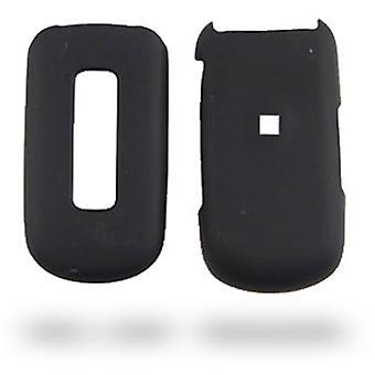 Phoenix-Wireless gummiert Snap on Case für Samsung M240 (schwarz)