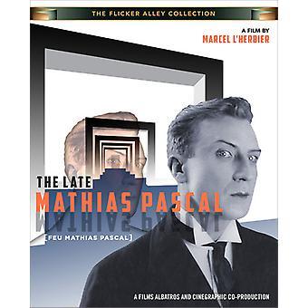 Sen Mathias Pascal [BLU-RAY] USA importerer