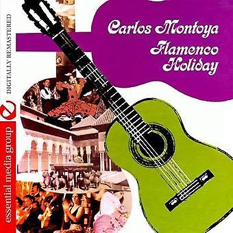 Carlos Montoya - Flamenco vakantie [CD] USA importeren