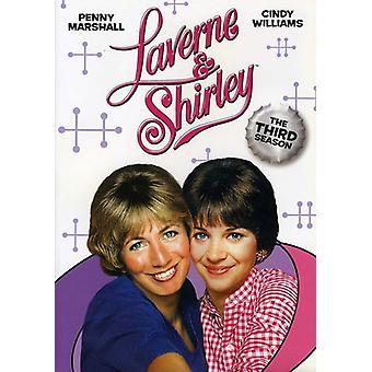 Laverne & Shirley - Laverne & Shirley: 3 ª temporada [DVD] EUA importar