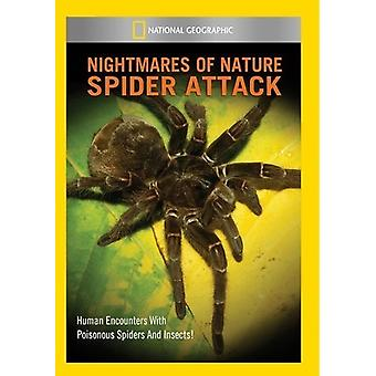 Nightmares of Nature: Spider Attack [DVD] USA import