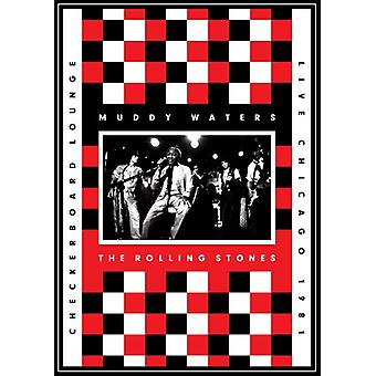 Eaux, Muddy & Rolling Stones - Live à l'importation USA Checkerboard Lounge 1981 [DVD]