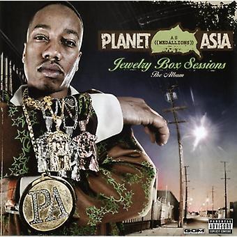 Planet Asia - smykker Box sessioner: The Album [CD] USA import
