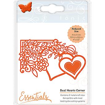 Tonic Studios Fanciful Floral Die-Dual Hearts 1538E