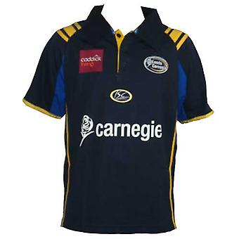 ISC leeds carnegie home rugby shirt [navy]