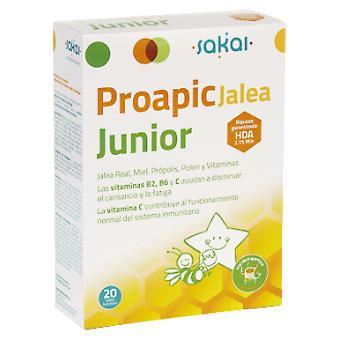 Sakai Proapi Jelly Junior 20Viales (Childhood , Healthy diet , Suplements)