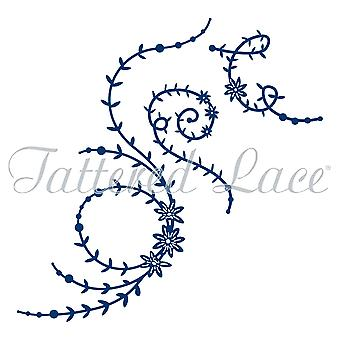 Tattered Lace Leaves & Beads  Die