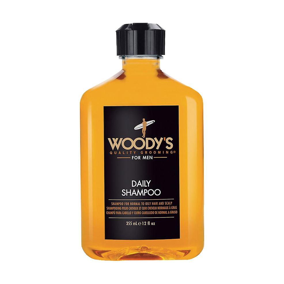 Woody's For Men Daily Shampoo 355ml