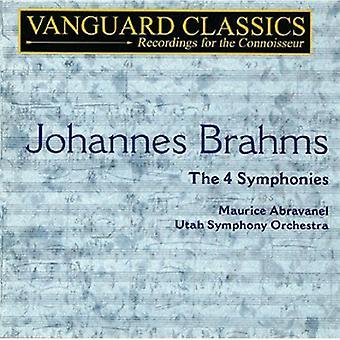 J. Brahms - Brahms: The 4 symfonier [CD] USA import