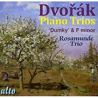 A. Dvorak - Dvor K: Piano Trios in F Minor & E Minor [CD] USA import