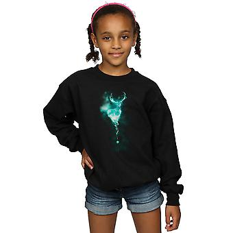 Harry Potter Girls Stag Patronus Mist Sweatshirt