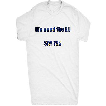 Renowned say yes to the eu