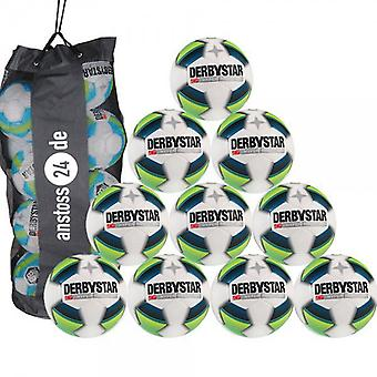 10 x DERBY STAR youth ball - HYPER PRO LIGHT includes ball sack