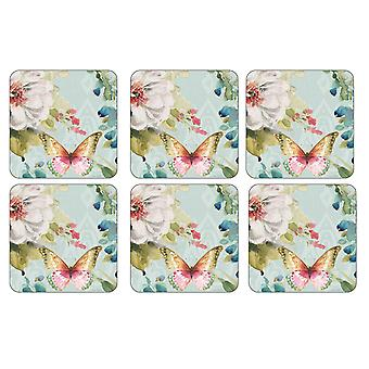 Pimpernel Colourful Breeze Coasters, Set of 6