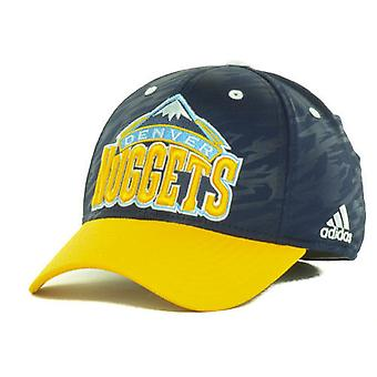 "Denver Nuggets NBA Adidas ""Courtside 2 Tone"" Stretch utrustade hatt"