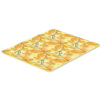 Fall Leaves and Branches Kitchen or Bath Mat 20x30