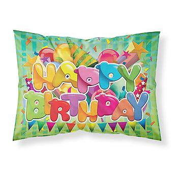 Carolines Treasures  APH8872PILLOWCASE Happy Birthday Fabric Standard Pillowcase