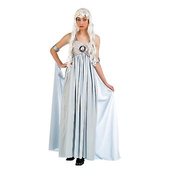 Queen of the games Princess ladies costume Maxi dress ladies costume Queen