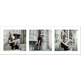 مارلين مونرو-طباعة ملصق الباريسية سيري ملصق