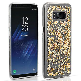 Samsung Galaxy S8 Tinfoil fall - guld