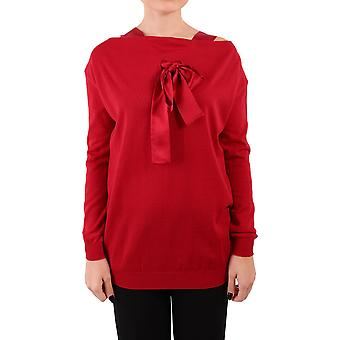Alberta Ferretti women's A09385100117 red wool sweater