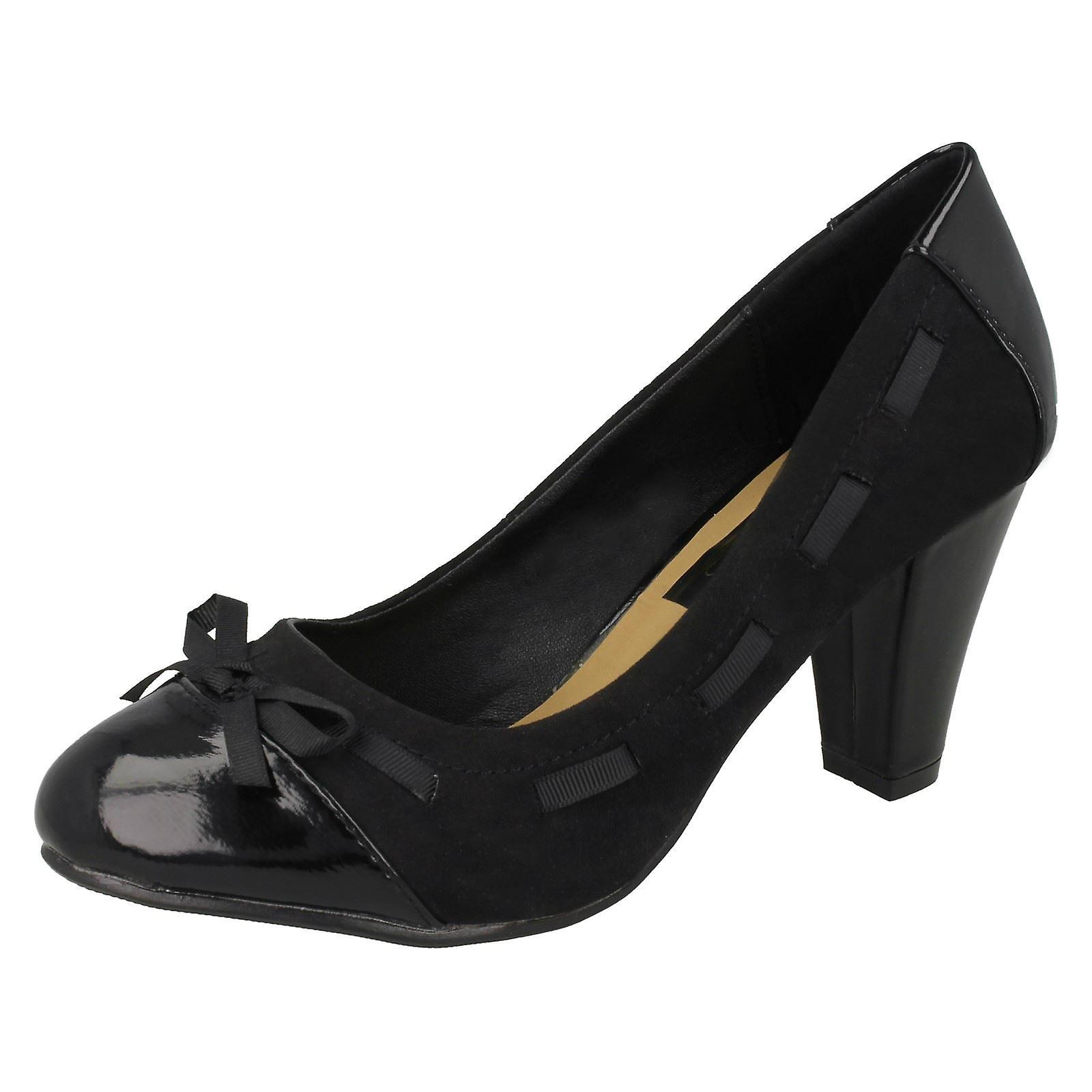 Ladies Spot On Court Shoes Geranium