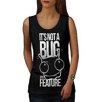 Not A Bug Geek Women BlackTank Top | Wellcoda
