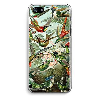 iPhone 5 / 5S / SE Transparent Case - Haeckel Trochilidae