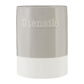 Premier Housewares Jura Utensil Holder, Grey