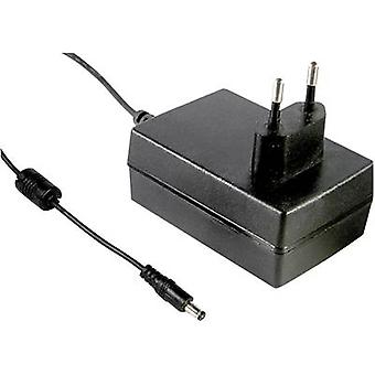 Mains PSU (fixed voltage) Mean Well GS18E12-P1J 12 Vdc 1