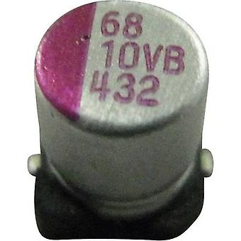 Electrolytic capacitor SMD 100 µF 25 V