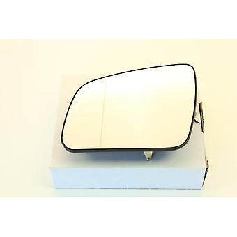Left Mirror Glass (heated) & Holder for Mercedes C-CLASS 2007-07/2008
