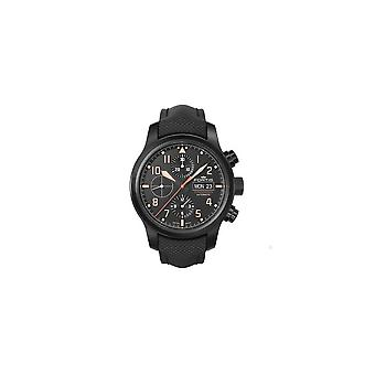 Fortis watch Aero master stealth automatic chronograph 656.18.18 LP 01