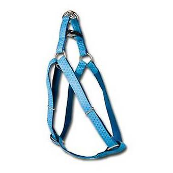 Nayeco MacLeather Dog Harness Blue L (Dogs , Collars, Leads and Harnesses , Harnesses)