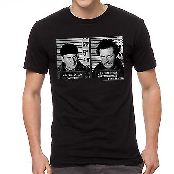Home Alone US Penitentiary Men's Black T-shirt