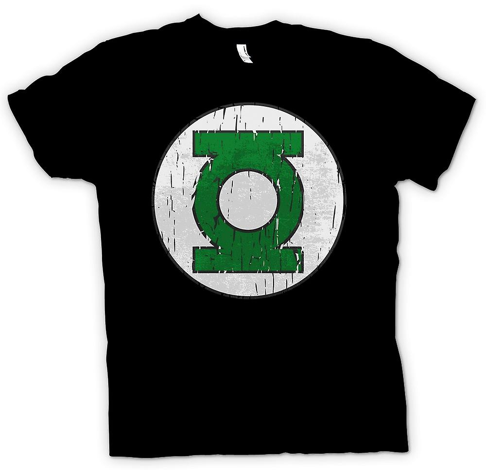 Womens T-shirt - Green Lantern Logo - Comic Hero