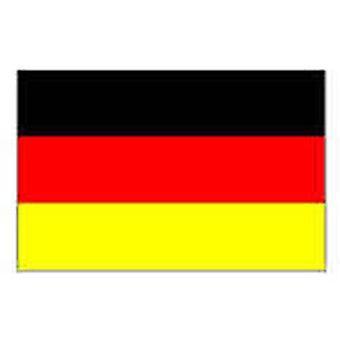 Alemanha bandeira 5 pés x 3 pés com ilhós para pendurar