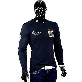 Men United States Army longsleeve Long Sleeve Body-Conscious Sweater Club Wear Slim Fit