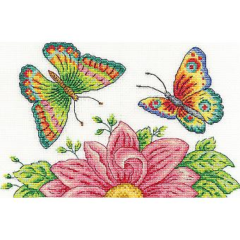 Butterfly Garden Counted Cross Stitch Kit-10