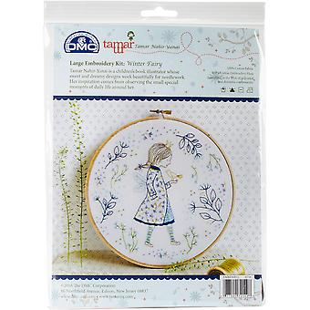 Winter Fairy Embroidery Kit-10